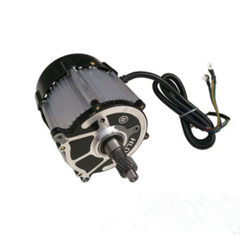 full range electric brushless DC motor from 500w-3000w for electric vehicle