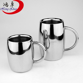 Stainless Steel Coffee Mug Cup Gift Sets With Stand Set