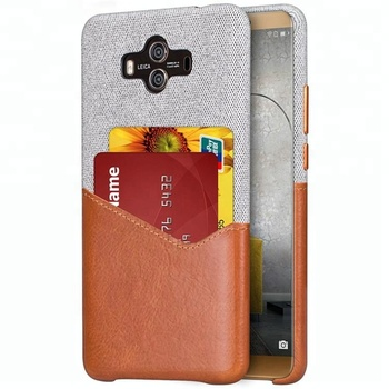 Elegant Luxury leather Mobile Phone Case Cover For Huawei mate 10, cowhide leather Phone Case