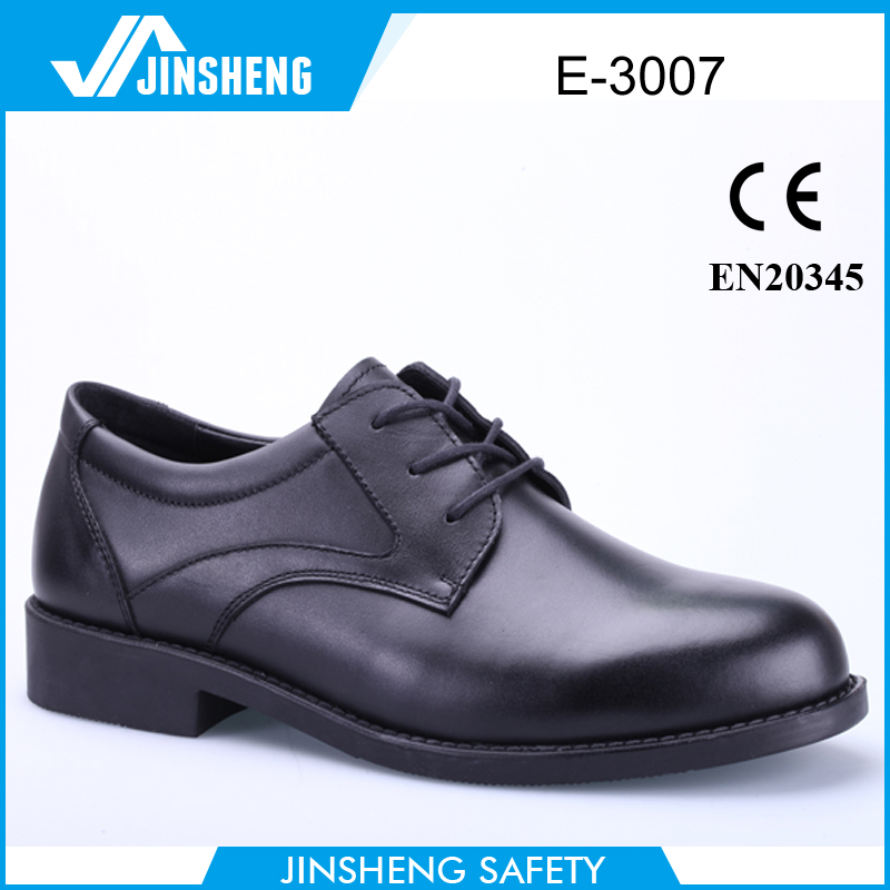 Factory Mens Steel Toe Cap Executive Office Safety Shoes Middle East Product On