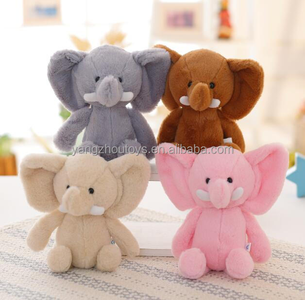 alibaba supplier wholesale elephant <strong>plush</strong> with big ears