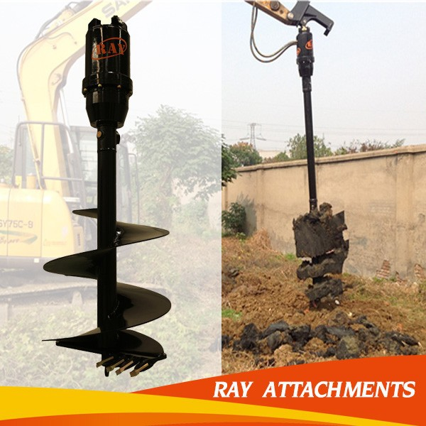 good quality auger shaft with ISO approved