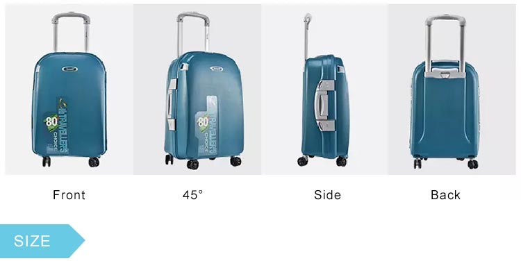 "BUBULE 18"" 21"" 27"" 31"" Travel Suitcase 5 Pieces Luggage Trolley Set"