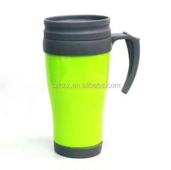 Mug plastic Coffee Portable Travel With Handle Walled Sale Cup Double For Buy Wall Lid And Thermos Thermal double Cups Plastic tdoQrsCBhx