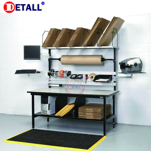Detall ESD Working table for packaging workshop