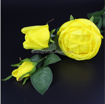 75 cm real touch pu fake yellow roses flower buy fake red roses 75 cm real touch pu fake yellow roses flower mightylinksfo