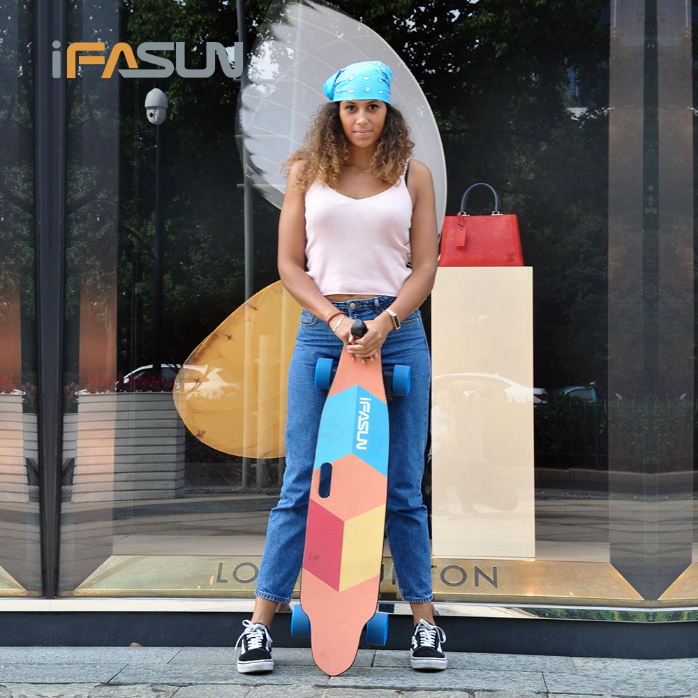 2000W High Performance Smooth Acceleration Fastest 45kmh Boosted Electric Longboard Skateboard