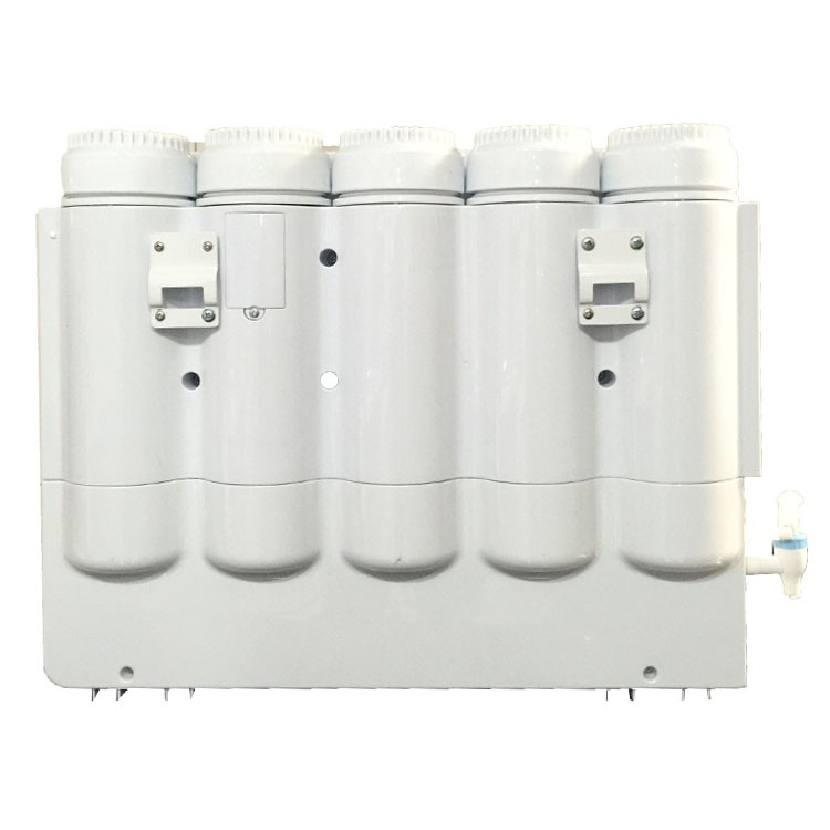 high quality 5 stages RO system water filter hot and cold water furifier for home/office use