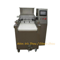 Automatic commercial depositor stainless steel fortune cookie press making machine