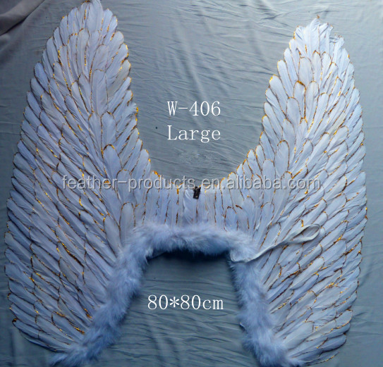 hot sale feather small angel wing for dancing party--China supplier 406LARGE