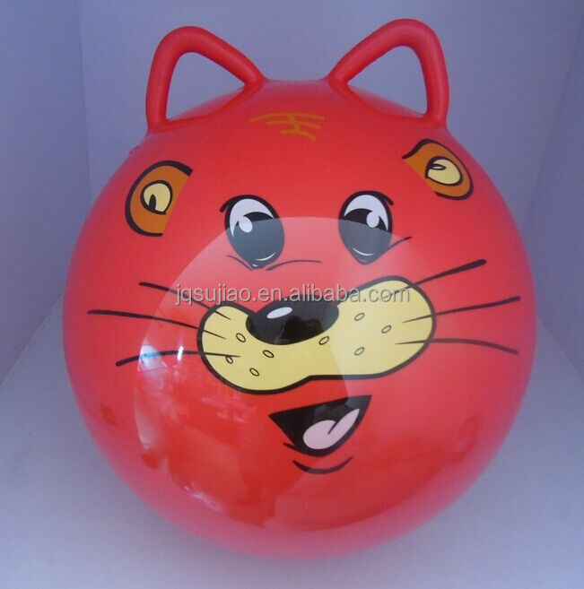 space hopper with double handle