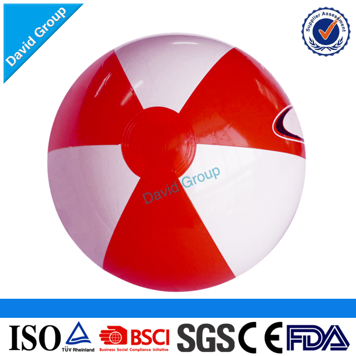 Certified Top Supplier Promotional Wholesale Custom Light Up Beach Ball