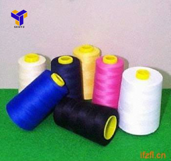 100%Polyester yarns for sewing thread