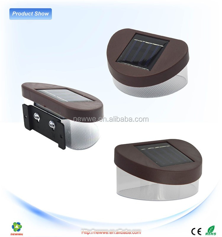 Modern Bright Durable Round Body Sensor Voice Contrl Light: New Product Outdoor Solar Lighting Round Led Gutter Lights