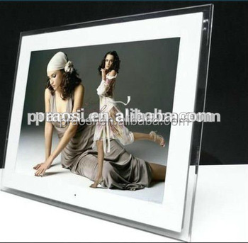 sexy blue film 17 inch wifi digital photo frame with android loop video mp3 mp4 - Wifi Digital Photo Frame