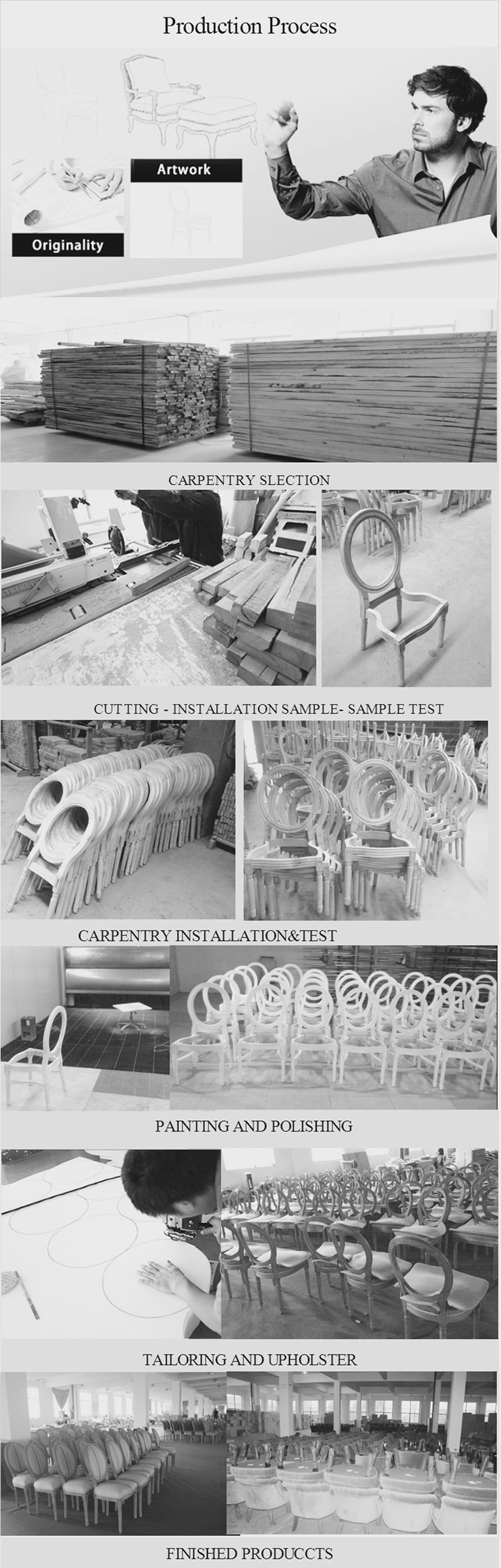 2015 French Louis style Golden Sliver Chair Wedding, View chair ...