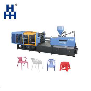 Factory selling directly Automatic horizontal Plastic injection molding Chair book stool making Machine for plastic chair