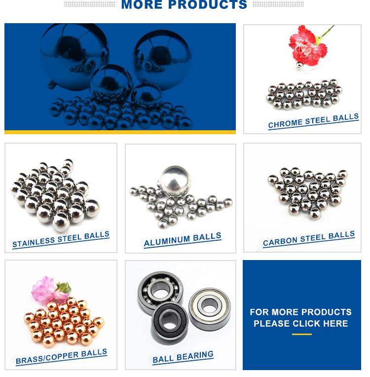 buona anticorrosivo sus 316 6mm sfere in acciaio inox