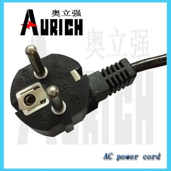 Home Electric Appliance VDE C13 C14 Connector Power Cord for Hair Dryer