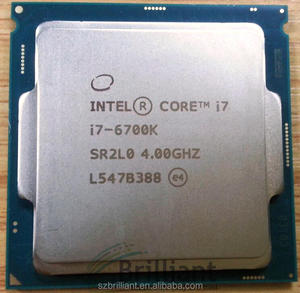Intel Core i7-6700K Processor (8M Cache, up to 4 20 GHz) CM8066201919901  SR2L0 CPU