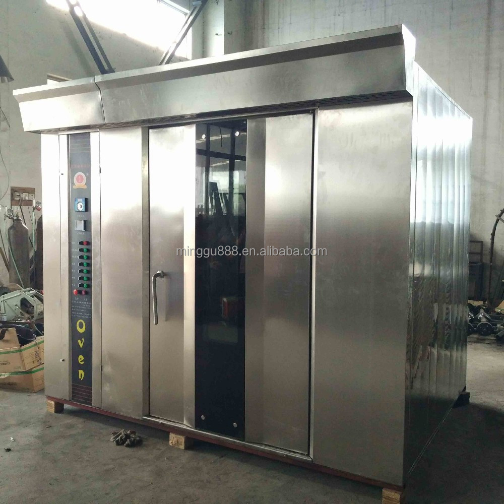 64 Trays Eletric Rotary Rack Oven