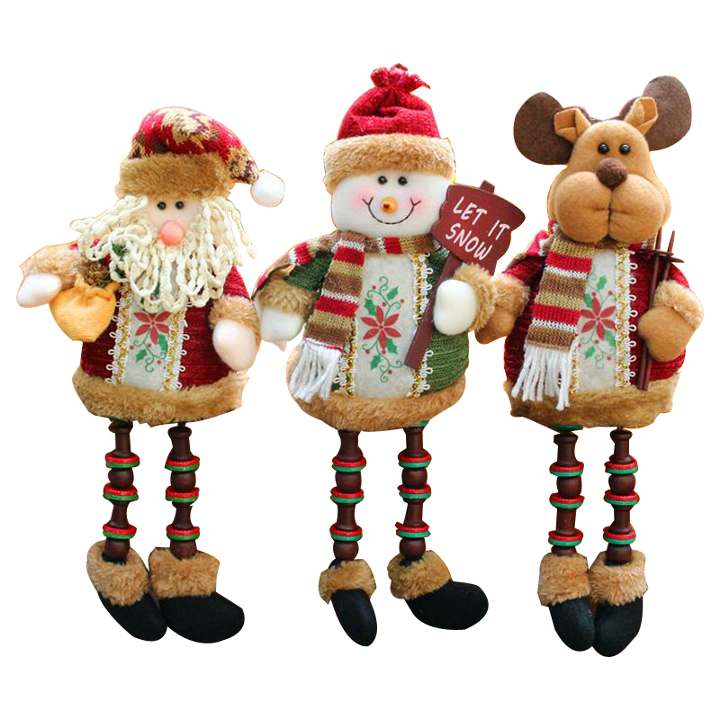 Christmas decorations Santa Claus snowman deer new Christmas gifts