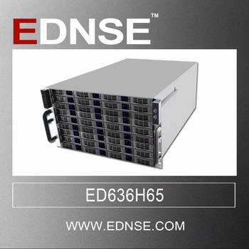 6u 36 hdd bays sas backpanel expansion backpanel network storage rack mount server case