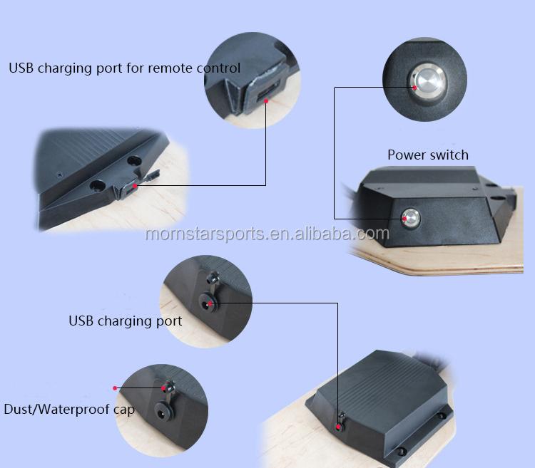 لوح تزلج كهربي للطرق الوعرة مزود ببطارية ليثيوم للأنشطة الخارجية