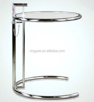 Classic Modern Living Room Furniture Stainless Steel End Table