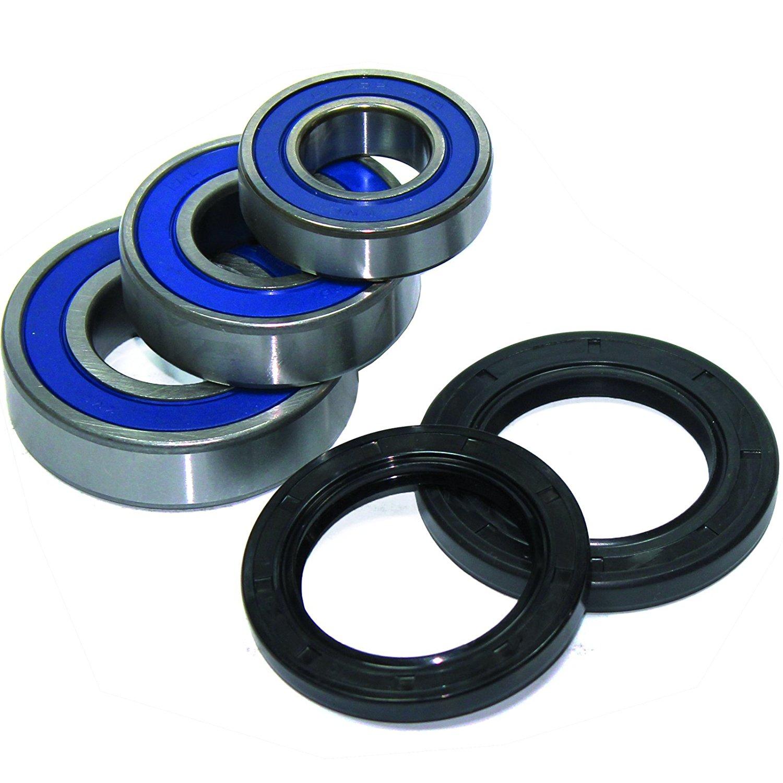 CALTRIC Rear Wheel Ball Bearings & Seals Kit Fits YAMAHA FZ8 FZ-8 2011-2013