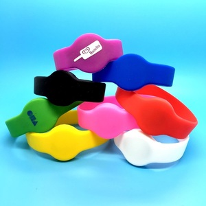 German Stock !!! MIFARE Classic 1K RFID silicone bracelet