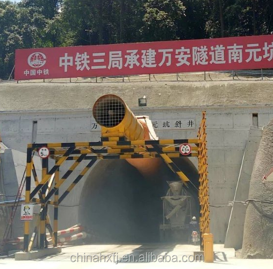 mine tunneling shaft building long-distance tunnel ventilation fan of coal metal chemical mines