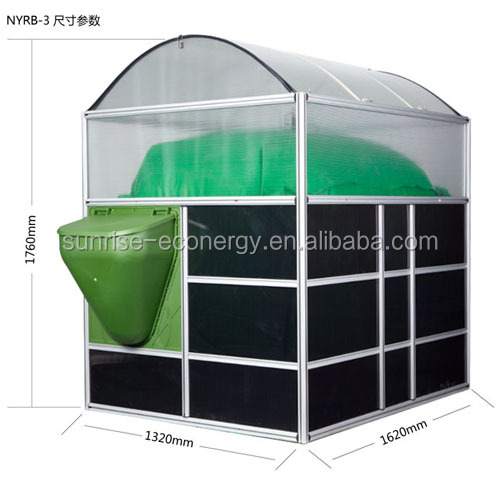 Sunrise Assembly Portable Mounted Anaerobic Home Biogas