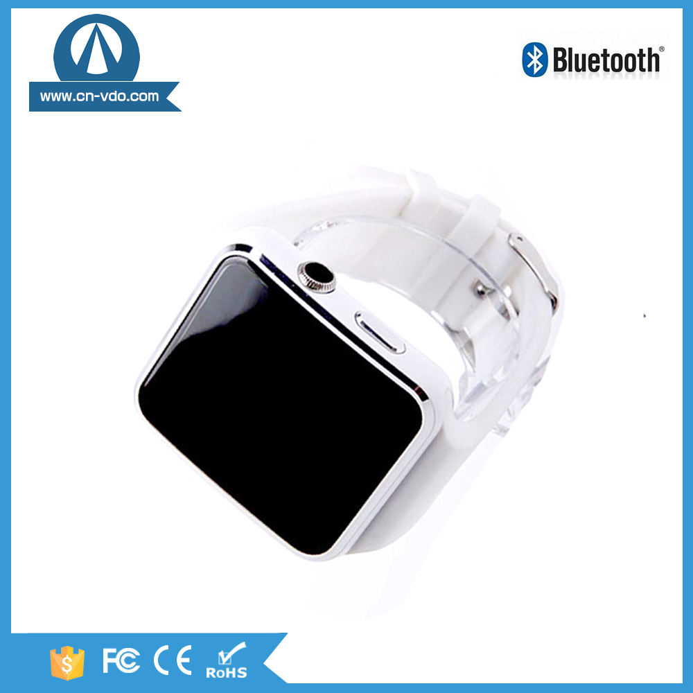 2.5D curved TP x6 smartwatch android mtk 6261 gsm wrist smart watch phone