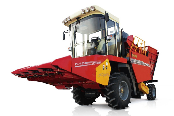 Customized multifunctional maize silage harvester