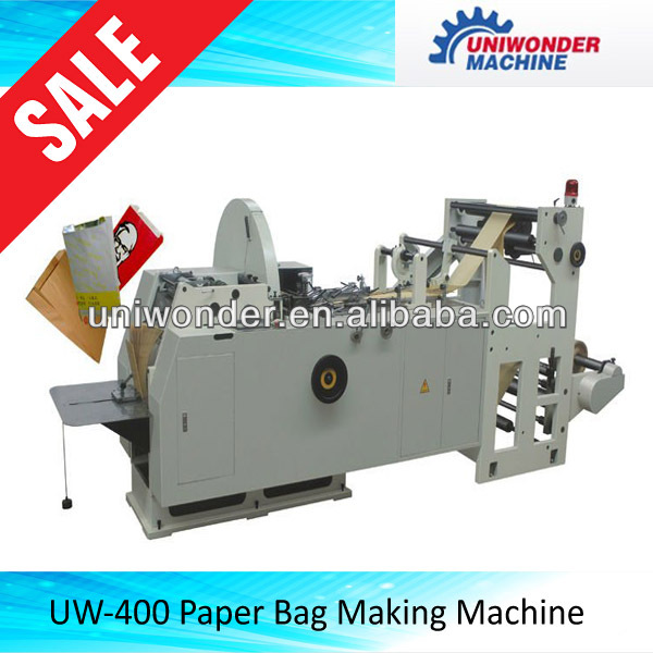food bag and paper bag making machine