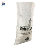 White Empty Packaging 50kg Bags Wheat Flour
