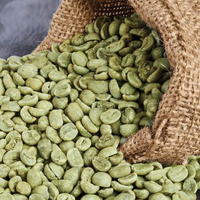 green coffee bean export price raw coffee