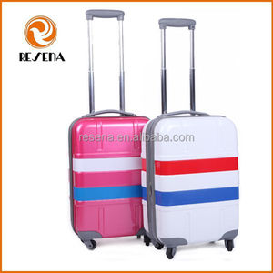 2015 product new ABS+PC plastic wonderful hard case luggage
