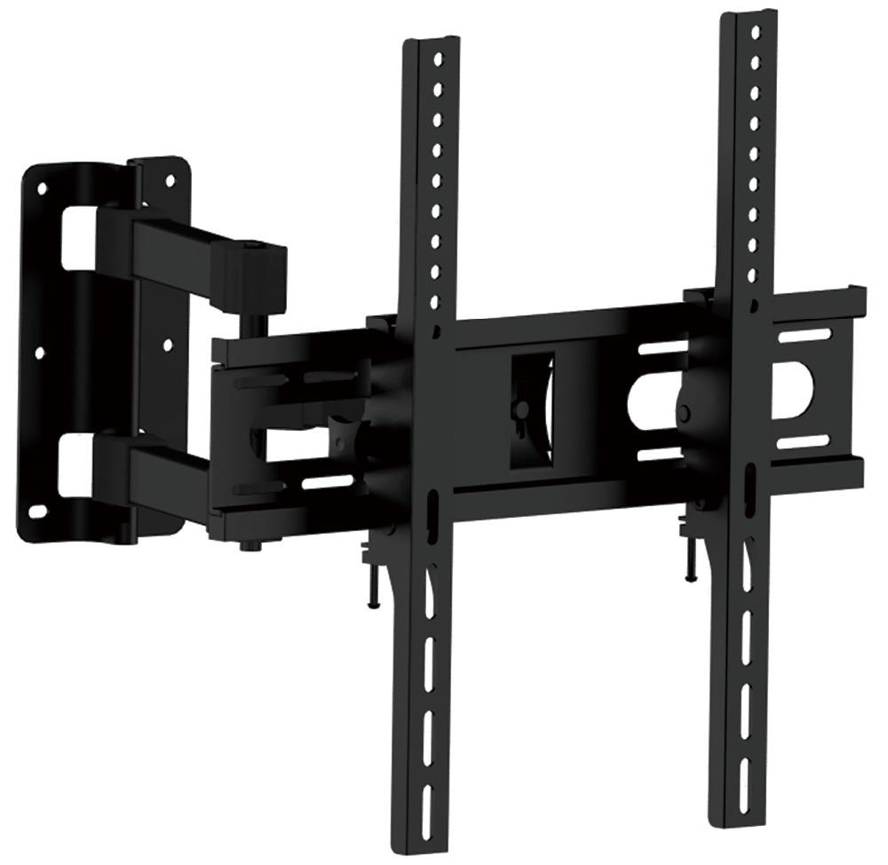full motion tilt lcd led tv wall mounts brackets universal swivel articulating 23 27 32 in tv. Black Bedroom Furniture Sets. Home Design Ideas