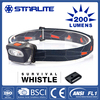STARLITE 200 lumens 3aaa 3w high power led headlight