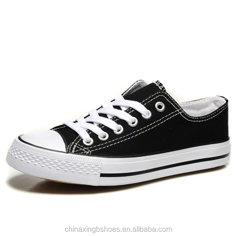 2017 Wholesale china style best Cheap classic simple comfortable cheap white canvas shoes of women and <strong>men</strong>
