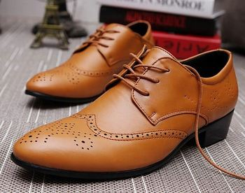 c5b59eea3772 New design mens formal shoes genuine leather Oxfords dress shoes