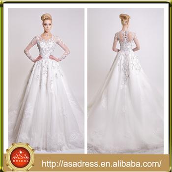 Ds-02 Ornate Sparkling Bridal Wedding Dresses 2015 Full Beaded ...