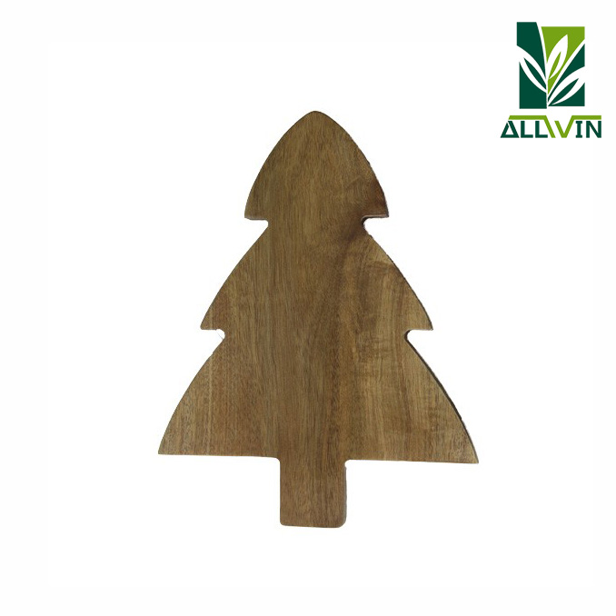 Kitchenware funny tree shape acacia wood chopping board