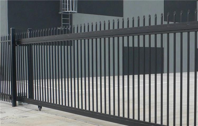 фото забор в стиле минимализм кованый любите