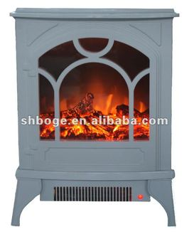 Boge Electric Fireplace Freestanding