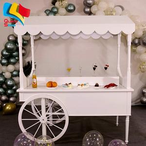 Wooden Candy Cart Sweet Cart