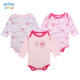 Hot Sale Oem Printed Pattern Long Sleeve 100% Cotton Funny Baby Clothes Girl