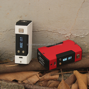 Temperature Control VW Variable Wattage Box Mod 200w panzer powered by 4500 mah battery